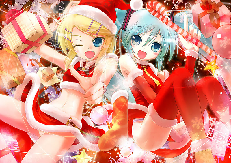 OTAKU CLUB: A Miku-miku christmas gallery 1!