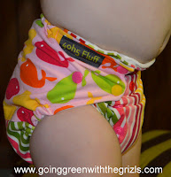cloth diaper fit from side