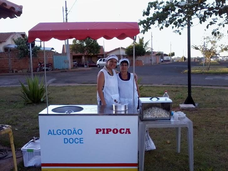 ALGODÃO DOCE E PIPOCA