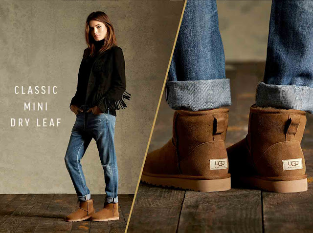boho-chic Ugg in Dry Leaf Color