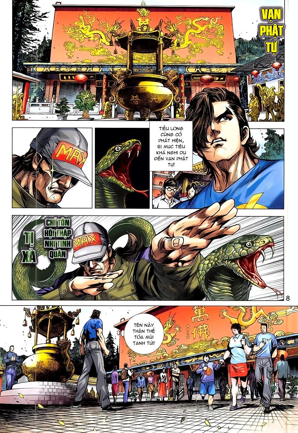 Tân Tác Long Hổ Môn chap 781 Trang 8 - Mangak.info