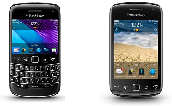 Harga Spesifikasi BlackBerry Bold 9790 & BlackBerry Curve 9380