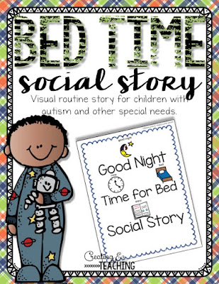 https://www.teacherspayteachers.com/Product/Bed-Time-Social-Story-2232689