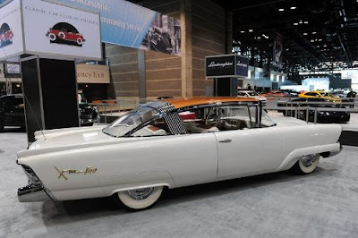 Mercury XM 800 Concept 1954 carro antigo