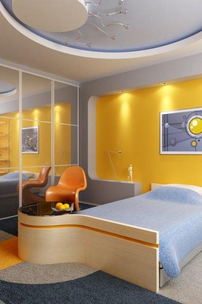 Idea y dise o de habitaciones para ni os decoracion de salones - Diseno de habitaciones infantiles ...