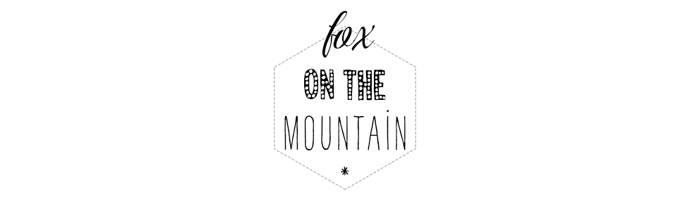 FOX ON THE MOUNTAIN
