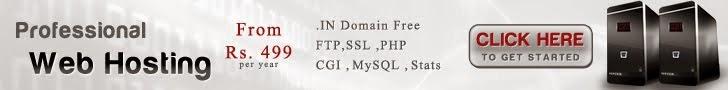 Web Hosting Start Rs.499