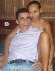 Joabe Reis e esposa Edilene Galvão