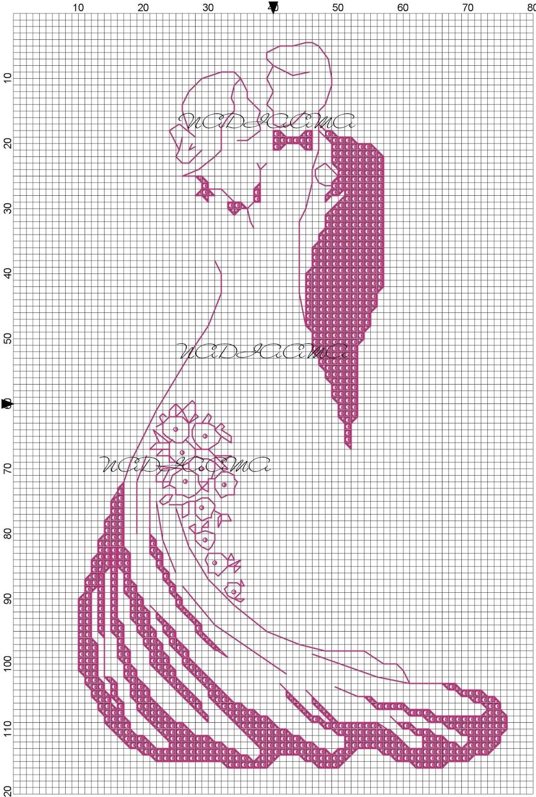 spesso Camy, Di tutto un po': Sposi stilizzati monocolore NH77