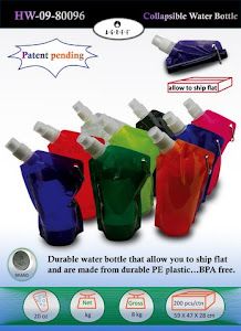 "CENTRUM LINK - ""FOLDABLE WATER BOTTLE"" - HW-09-80096"