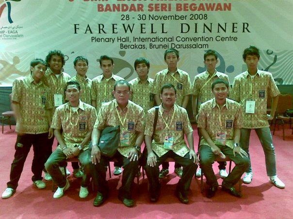 Juara 1 Futsal pada ajang The East ASEAN Growth Area (BIMP-EAGA)
