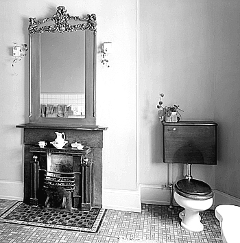 The vintage era beautifully designed toilets for Bathroom designs 1900 s