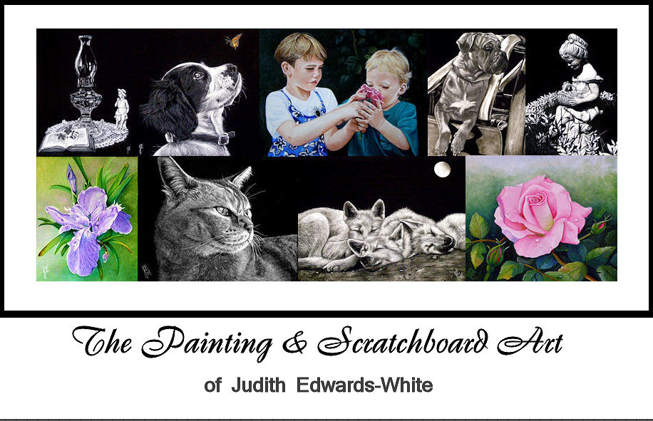 The Painting and Scratchboard Art of Judith Edwards-White