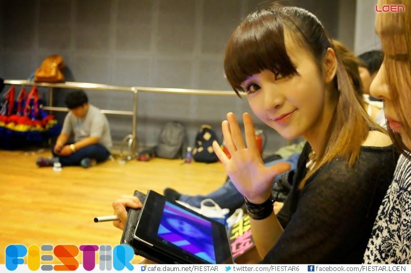 Happy birthday to Fiestar's Cao Lu
