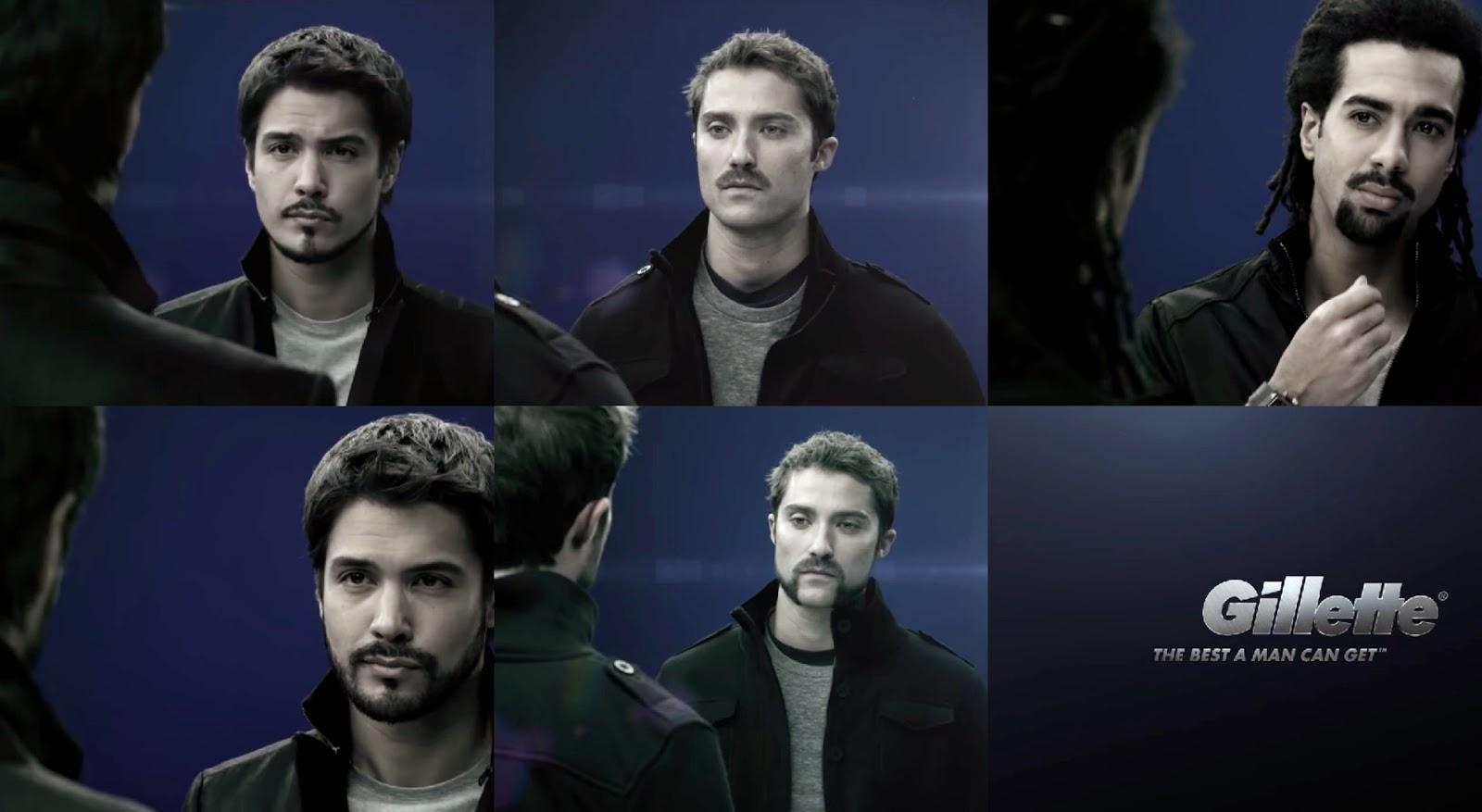 Tipos de barba GILLETTE