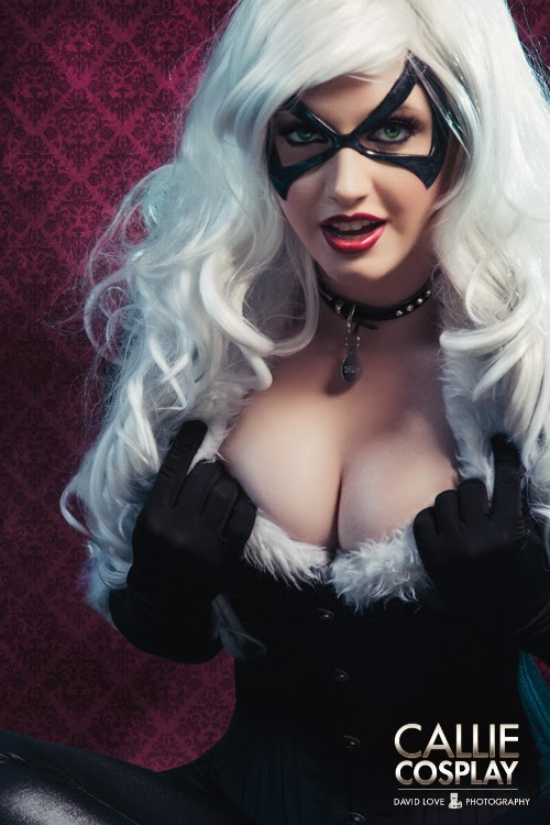 photo de Callie cosplay en black cat