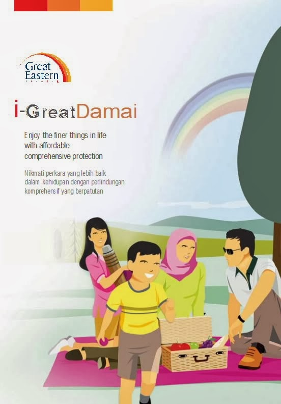 i-Great Damai - Saving+Protection+Life+Critical Illness+MEDICAL CARD+accident