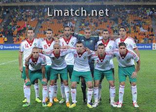 تشكيلة المغرب مقابل الرأس الاخضر كأس افريقيا 2013
