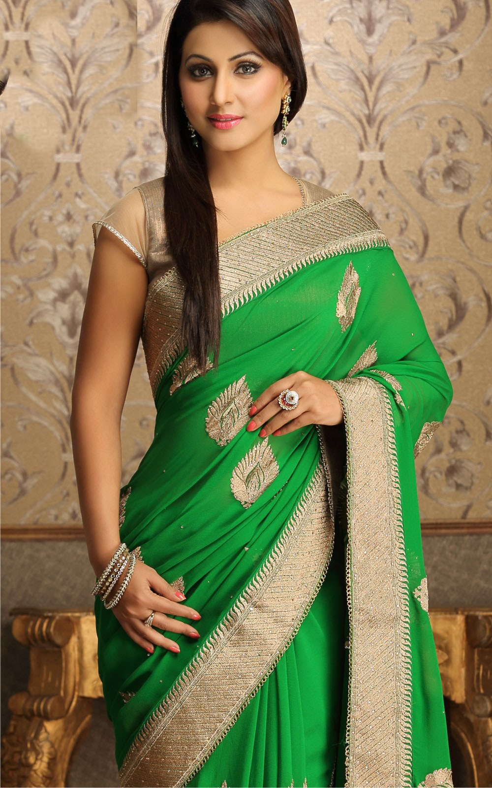 Akshara stylish saree collection catalog photo
