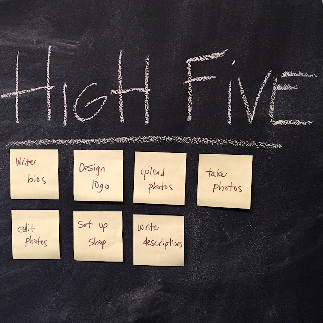 High Five closeup