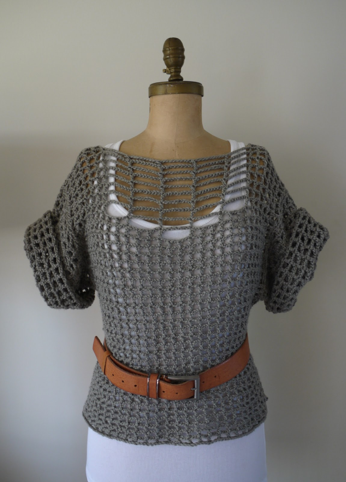 Free Crochet Patterns Summer Sweaters : Category - Beautiful: Summer Sweater... Crochet DIY