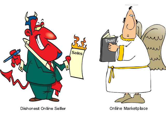 Online marketplace needs to protect customers from dishonest sellers