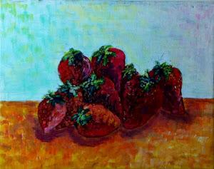 Frutillas - Acrilico (taller)