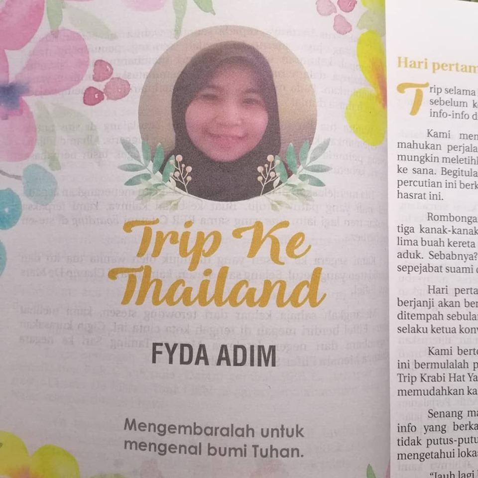 Cerita Trip Ke Thailand