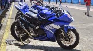 modifikasi motor yamaha yzf r15 simple