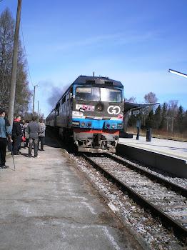 30.aprill 2012- kinorongi vahepeatus Vägeval
