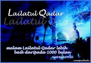 Tanda-Tanda Malam Lailatul Qadar atau Ciri-Ciri Datangnya Malam Lailatul Qadar