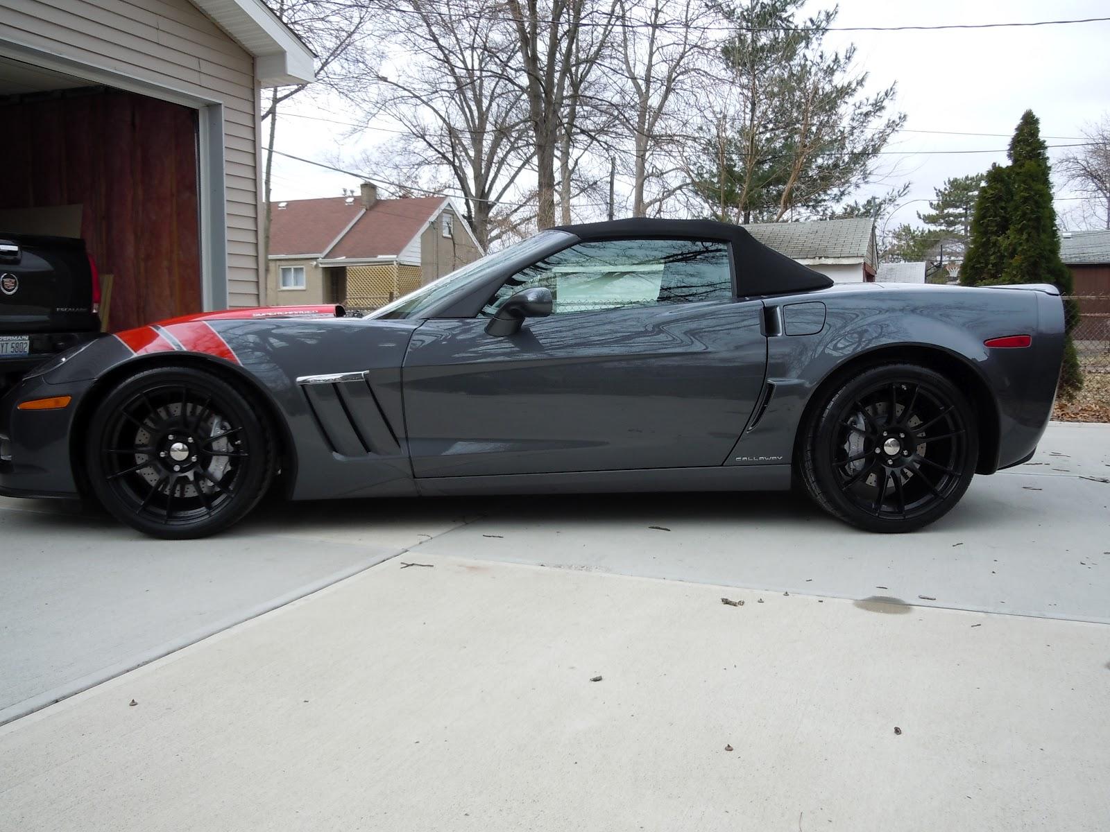 2011 Callaway Sc606 Grand Sport Convertible 1200 Miles