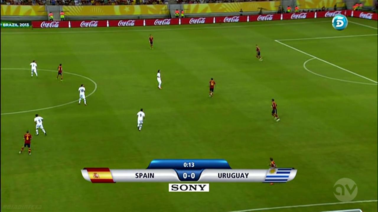 Copa Confederaciones 2013 - Spain vs Uruguay
