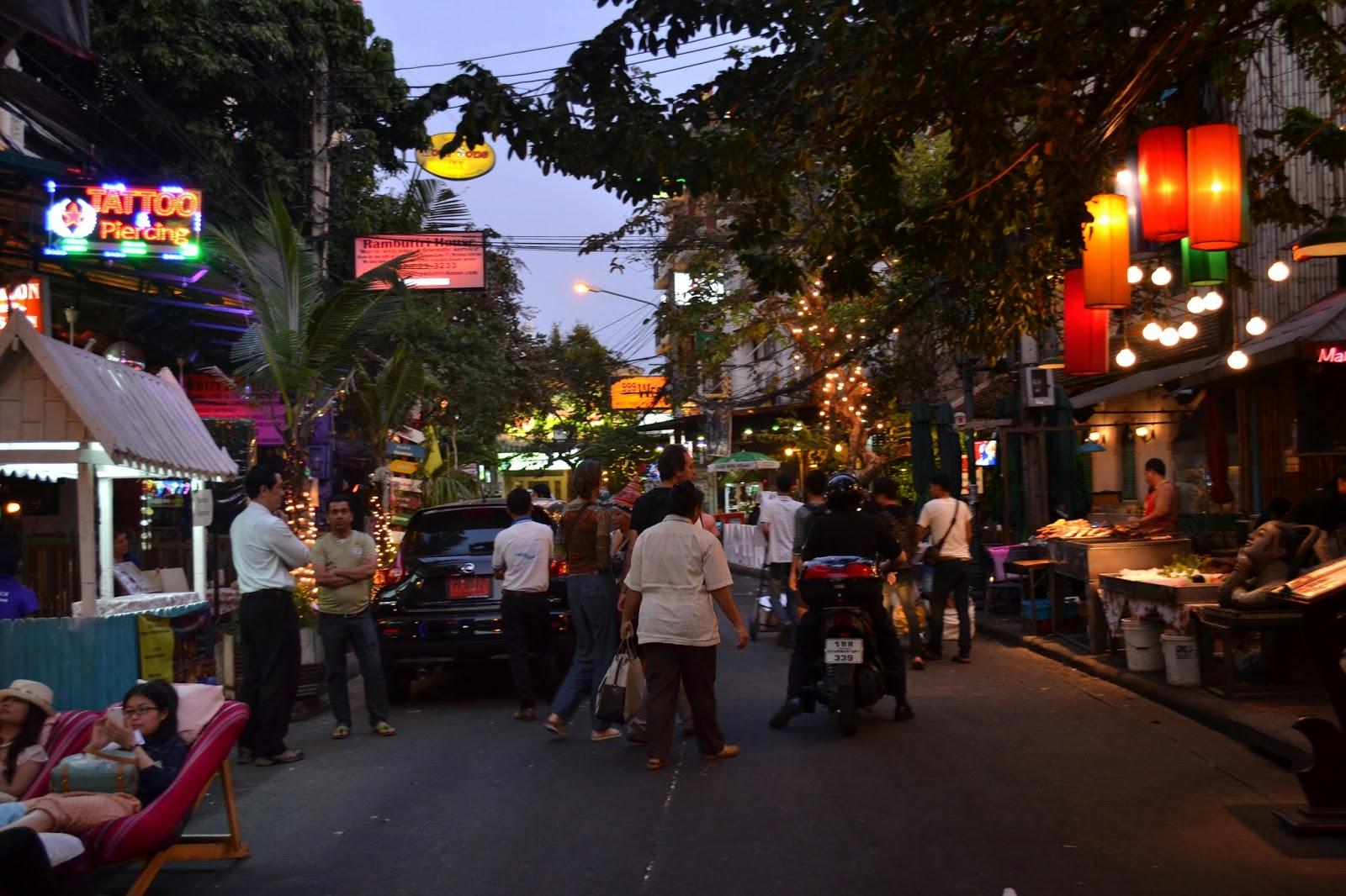 Thailande, bankok, voyage, khao san road