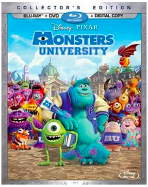 Monster University (2013) BluRay 720p 800MB