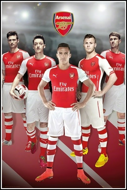 Walpapper Poster Arsenal 2015 Puma