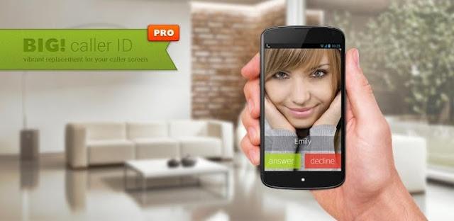 Full Screen Caller ID Pro - BIG !  v3.0.1 Apk full download