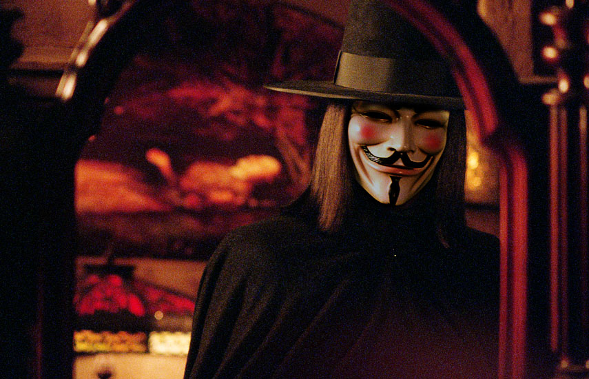 v for vendetta character essay V for vendetta essay  an important part of each character getting ready is that they are disguising who they are v puts on a mask,.