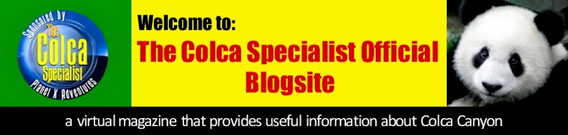 The Colca Specialist