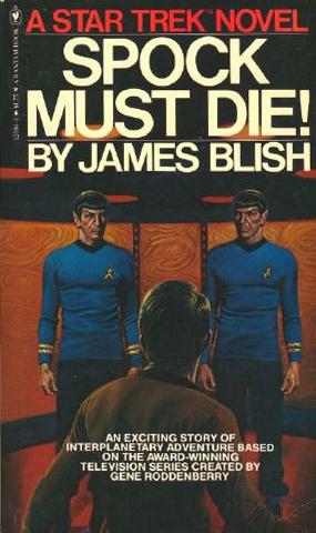 Star Trek novellit, hyviä vai huonoja? Spock+Must+Die+1980