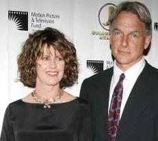 Pam Dawber and Mark Harmon circa mid 2000s
