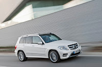 New 2012 Mercedes Benz GLK X204 Facelift Official High Resolution Picture