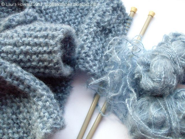 Bugs and Fishes by Lupin: Giveaway: Fluffy Yarn