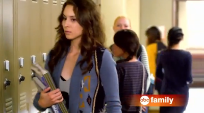 Spencer's  Ecote Intarsia Cardigan Pretty Little Liars Season 3, Episode 15: &#8220;Mona Mania&#8221;