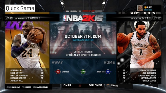 NBA 2K15 PC GAME REVIEW SCREENSHOT WWW.OVAGAMES.COM 1 NBA 2K15 RELOADED