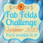 Fab Folds Sewing Challenge