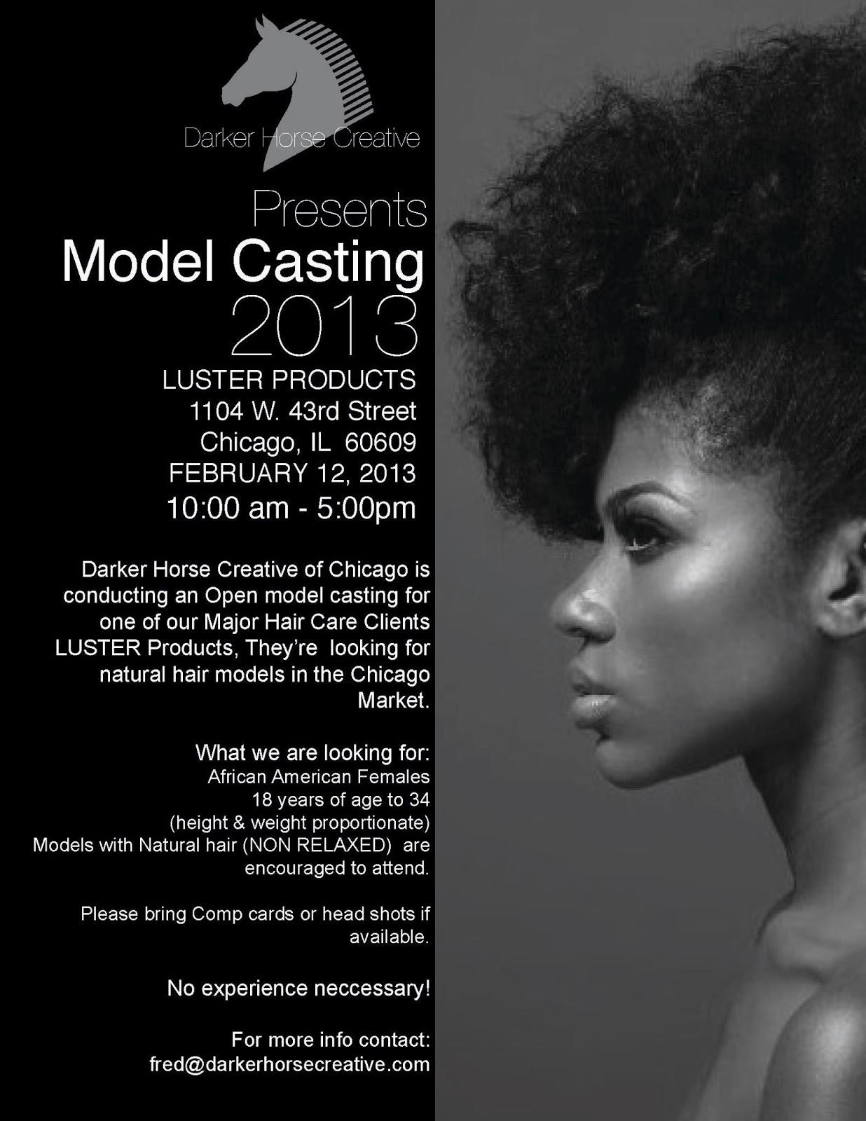 Natural Hair Models Wanted