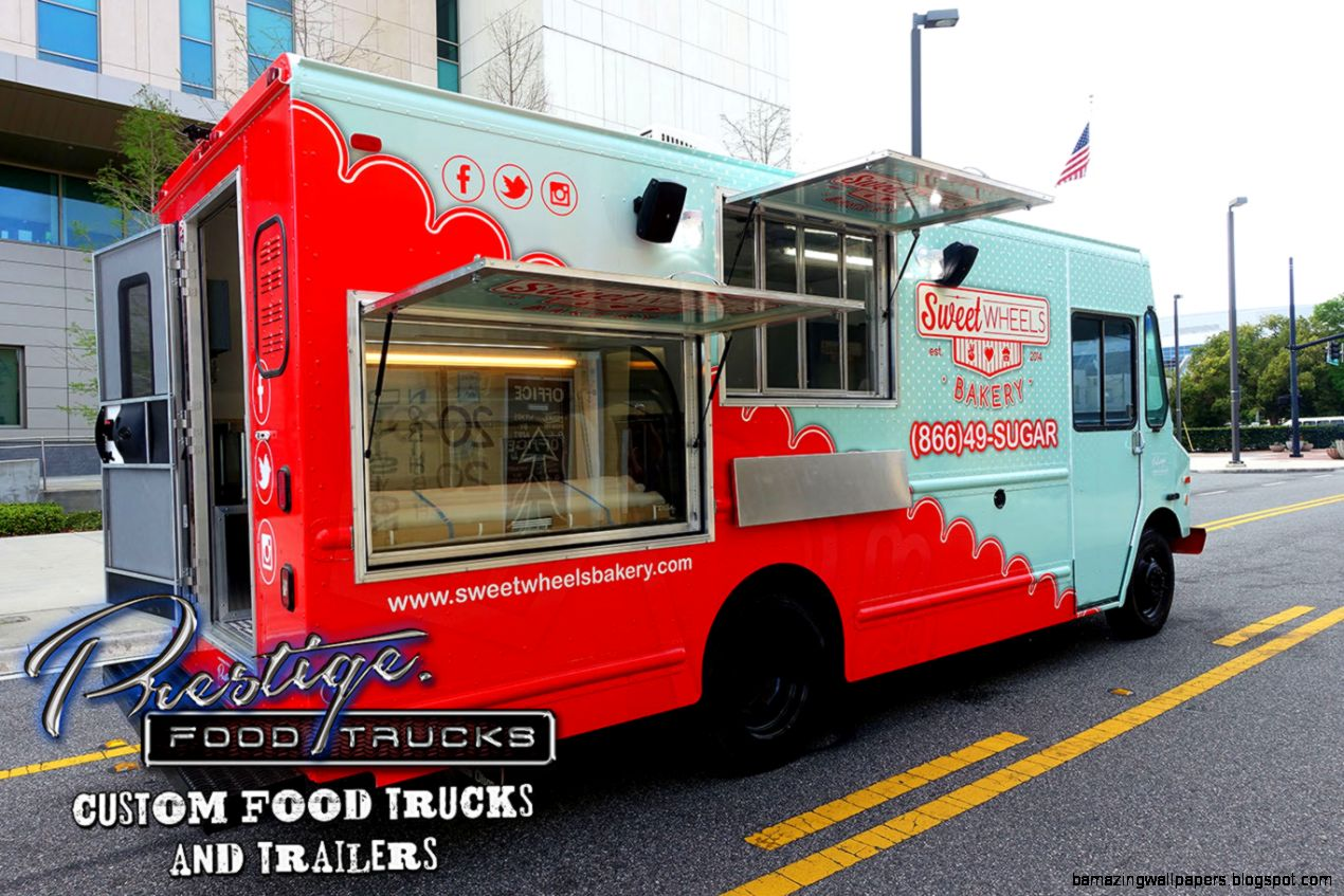Custom Food Trucks Manufacturer