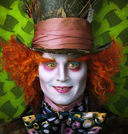 johnny depp as mad hatter