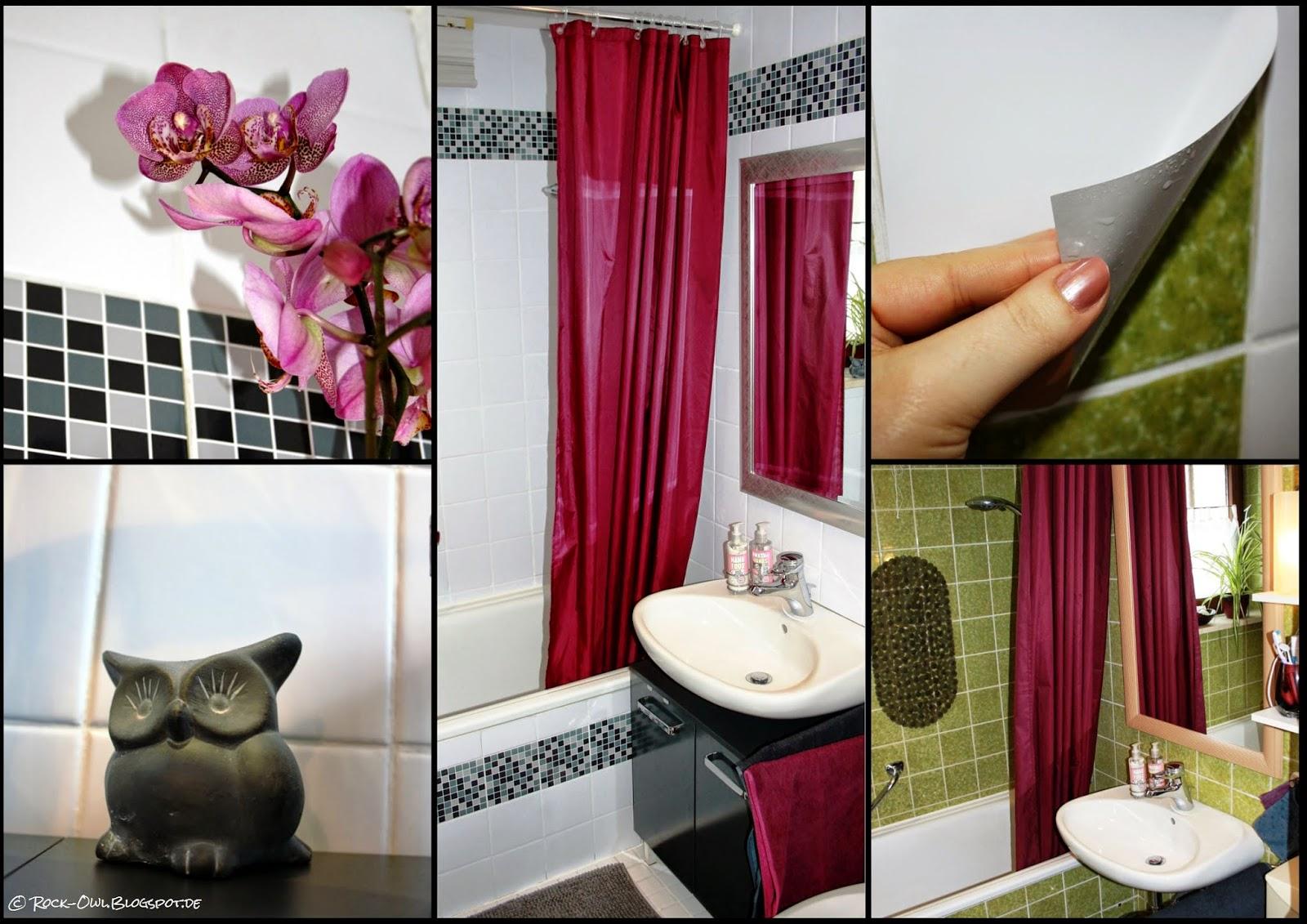 Aus Grün Mach Weiß: Ich Klebu0027 Mir Ein Neues Bad ♥